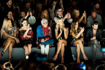 Frontrow - New York Fashion Week - Laverne Cox - Lena Meyer Landrut - Iris Apfel - Karolina Kurkowa - Desigual -